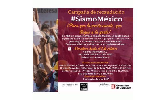 Emergencia por terremotos en México
