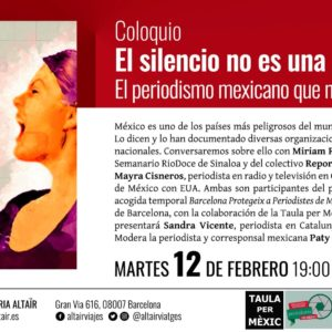 Coloquio: El silencio no es una opción