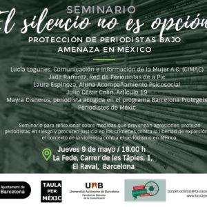 """""""El silencio no es opción"""": Seminario en La Fede"""
