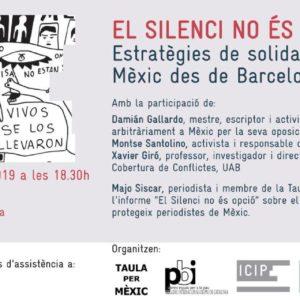 """Presentació llibre """"El Silenci no és opció"""""""