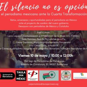 El silencio no es opción, el periodismo mexicano ante la Cuarta Transformación