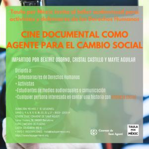 CINE DOCUMENTAL COMO AGENTE PARA EL CAMBIO SOCIAL