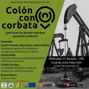 Colón con corbata, presentación de investigación y web