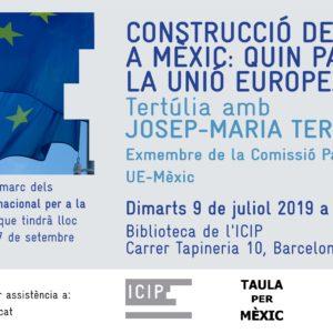Tertulia: Construcción de paz enMéxico