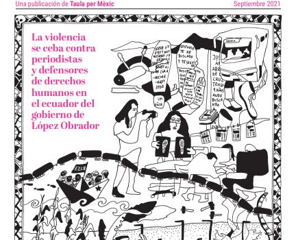 Taula per Mèxic y La Marea colaboran en un dossier sobre los derechos humanos en México
